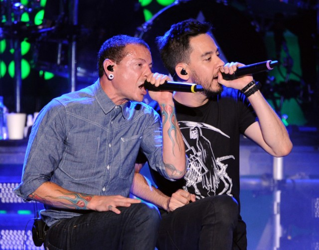 Chester Bennington and Mike Shinoda