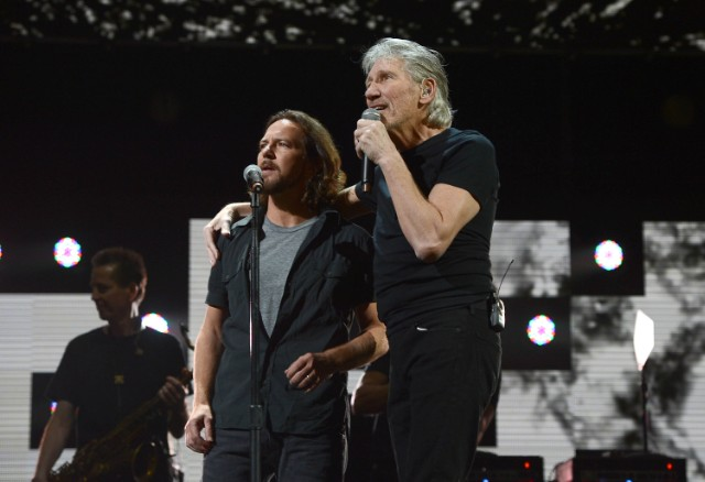 Eddie Vedder and Roger Waters