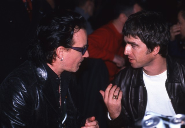 Bono & Noel Gallagher