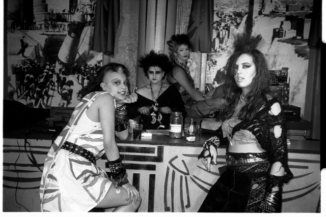 The Bat Girls at Danceteria