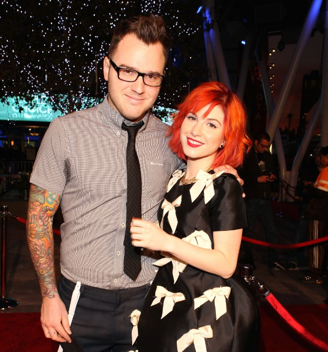 Chad Gilbert & Hayley Williams
