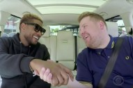 Watch Usher Do Carpool Karaoke With James Corden