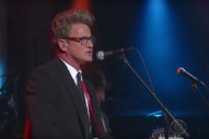 Behold The Strange Vision Of Joe Scarborough Performing With His Band On <em>Colbert</em>