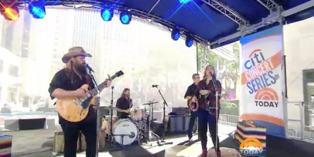 Chris Stapleton on Today Summer Concert Series video