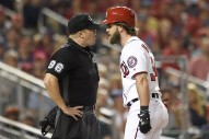 "MLB Star Bryce Harper Gets Ejected After Getting ""Too Fired Up"" Listening To Logic"