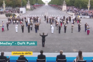 Watch French Army Marching Band Play A Daft Punk Medley For Trump & Macron