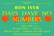 "Bon Iver Headlining ""All-Inclusive Concert Vacation"" In Mexico"