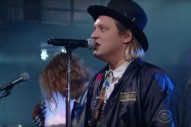 Watch Arcade Fire&#8217;s <em>Colbert</em> Performance, Complete With Fake Infomercial