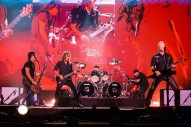 Man Arrested For Allegedly Peeing On Family During Metallica Concert