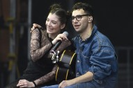 Watch Lorde And Jack Antonoff Cover Paul Simon At Outside Lands