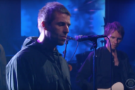 Watch Liam Gallagher Make His American Solo TV Debut On <em>Colbert</em>