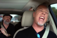 Watch Metallica Sing Rihanna In A Preview Of Their <em>Carpool Karaoke</em> With Billy Eichner
