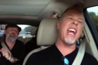 Watch Metallica Sing Rihanna In A Preview Of Their <em>Carpool Karaoke</em> With Billy Eichner