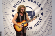 "Watch Jim James Cover ""Prairie Lullaby"" Backstage At Newport Folk Fest"