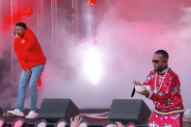 Watch Vince Staples Perform &#8220;Big Fish&#8221; With A Money-Tossing Juicy J On <em>Kimmel</em>