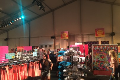 Lollapalooza Ups The Festival Merch Game