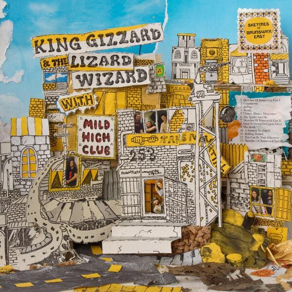 Afbeeldingsresultaat voor King Gizzard & The Wizard Lizard-Sketches Of Brunswick East