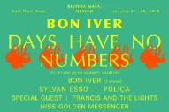 Bon Iver Cancel Mexican Festival Days Have No Numbers 10 Days After Announcing