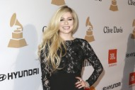 "Avril Lavigne Named ""Most Dangerous Celebrity On The Internet"""