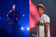 The Weeknd and Bruno Mars
