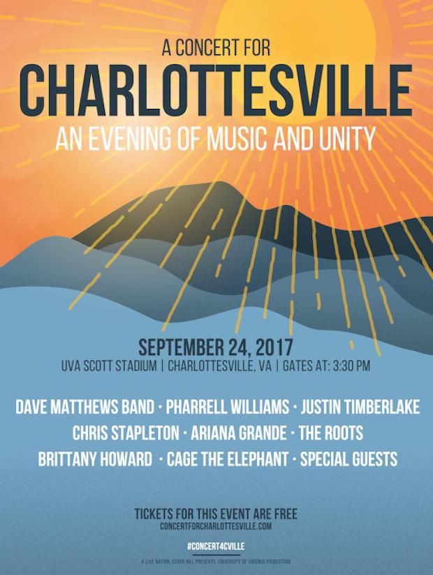 Concert For Charlottesville