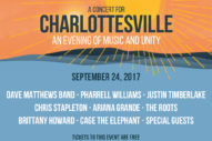 Livestream Charlottesville Benefit Concert