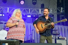 Dave Matthews and Susan Bro