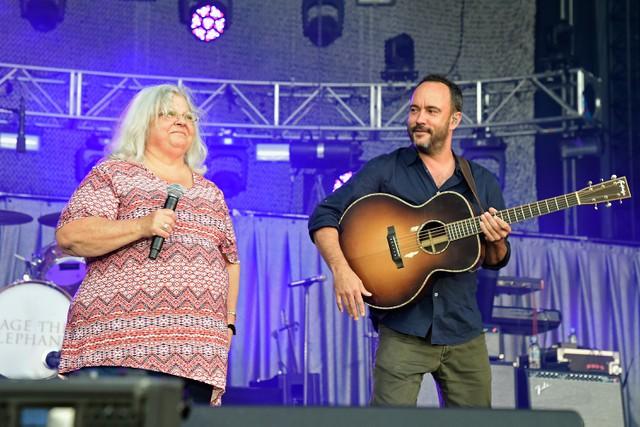 Dave Matthews and Susan Bro