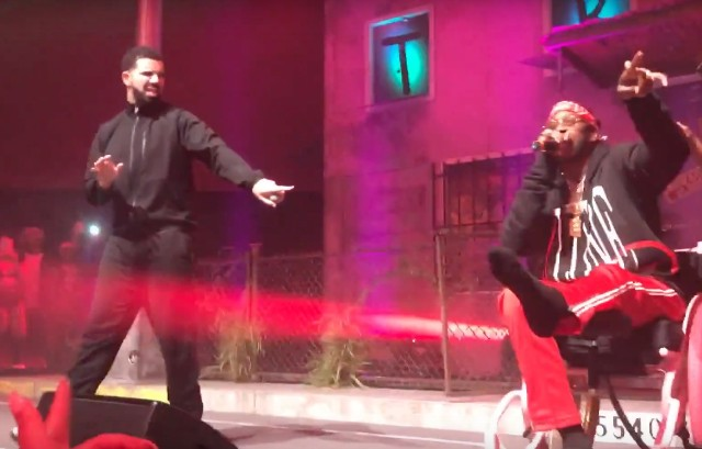 Watch 2 Chainz Bring Drake Out In Toronto - Stereogum