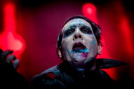 Marilyn Manson Hospitalized After Stage Prop Collapse In NYC