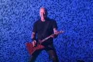 Watch Metallica's James Hetfield Fall In A Hole Onstage In Amsterdam