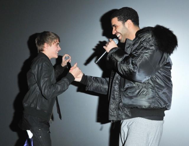 Justin Bieber and Drake