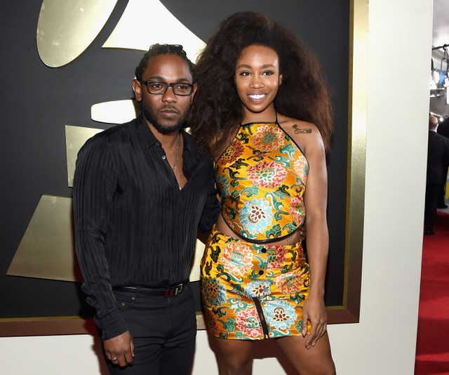 SZA and Kendrick Lamar