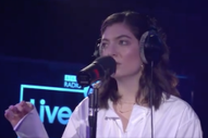 Watch Lorde Cover Phil Collins In The BBC Radio 1 Live Lounge