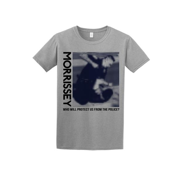 New Morrissey T-Shirt Calls Out Police Brutality