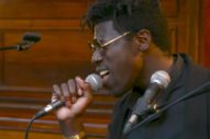 Watch Moses Sumney Cover Björk