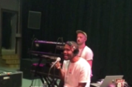 "Frank Ocean Shares Studio Performance Of ""Nikes"""