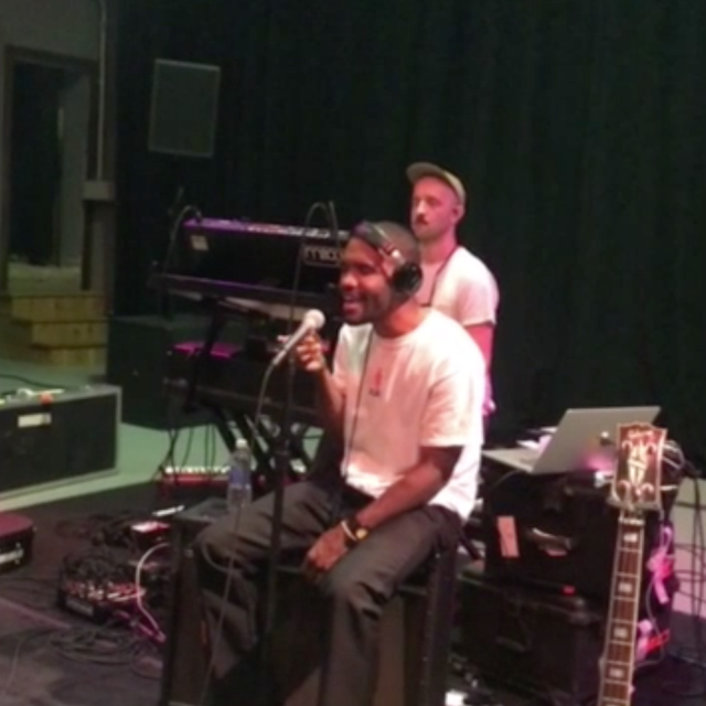 Frank Ocean Shares Studio Performance Of