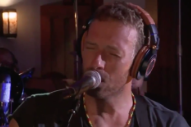 "Watch Chris Martin Cover Paul Simon's ""Graceland"" With A Horn Section"