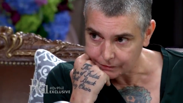 Dr. Phil Bosses Paying for Sinead O'Connor's Medical Treatment
