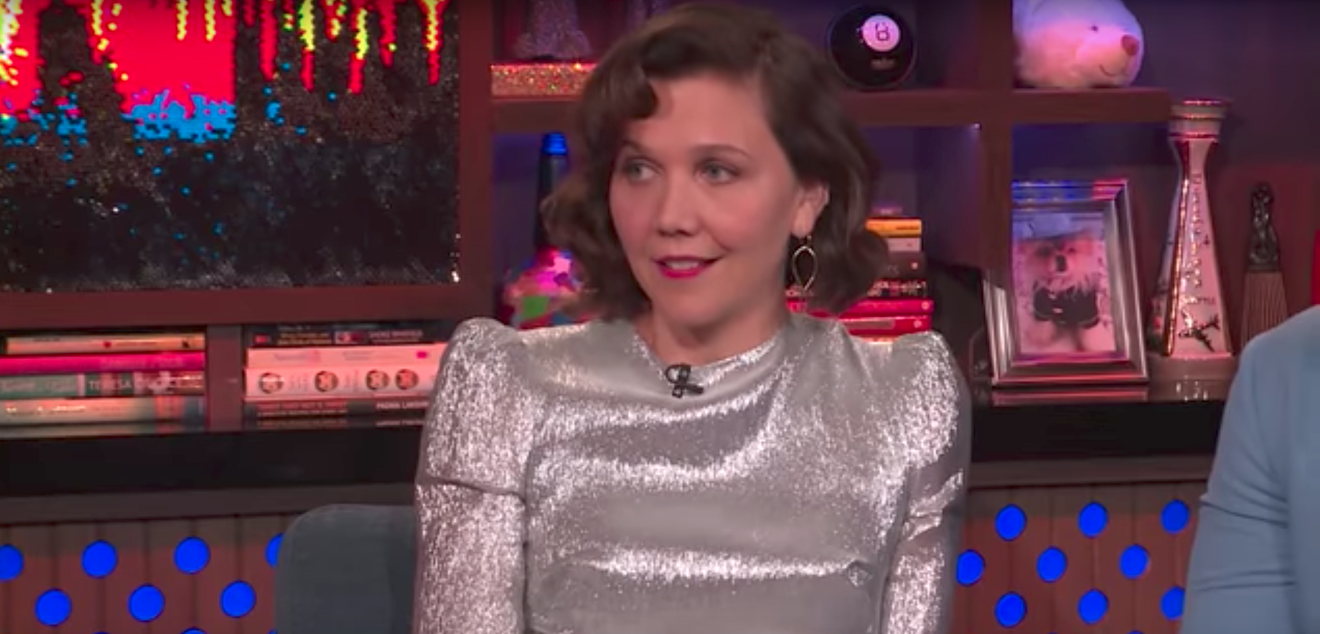 Maggie Gyllenhaal Doesn't Know Why Everyone Asks Her About Taylor Swift's Missing Scarf
