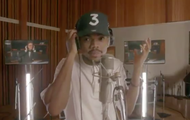 Watch Chance The Rapper In Stephen Colbert's Emmys Opening Song