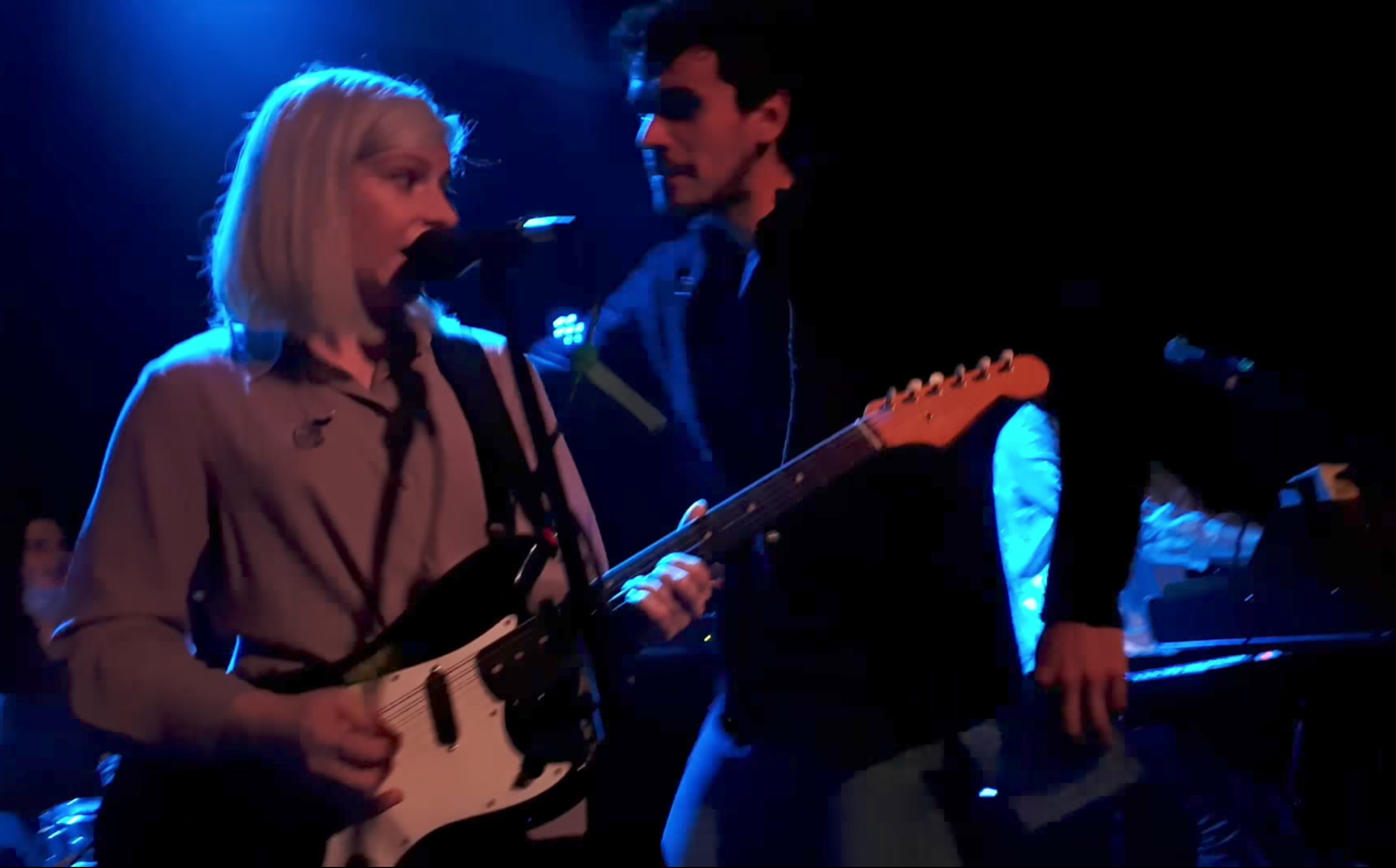 Idiot Crashes Alvvays Set And Tries To Kiss Molly Rankin