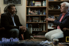 Neil DeGrasse Tyson and David Byrne