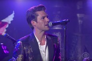 Watch The Killers&#8217; Supremely Schmaltzy <em>Colbert</em> Performance