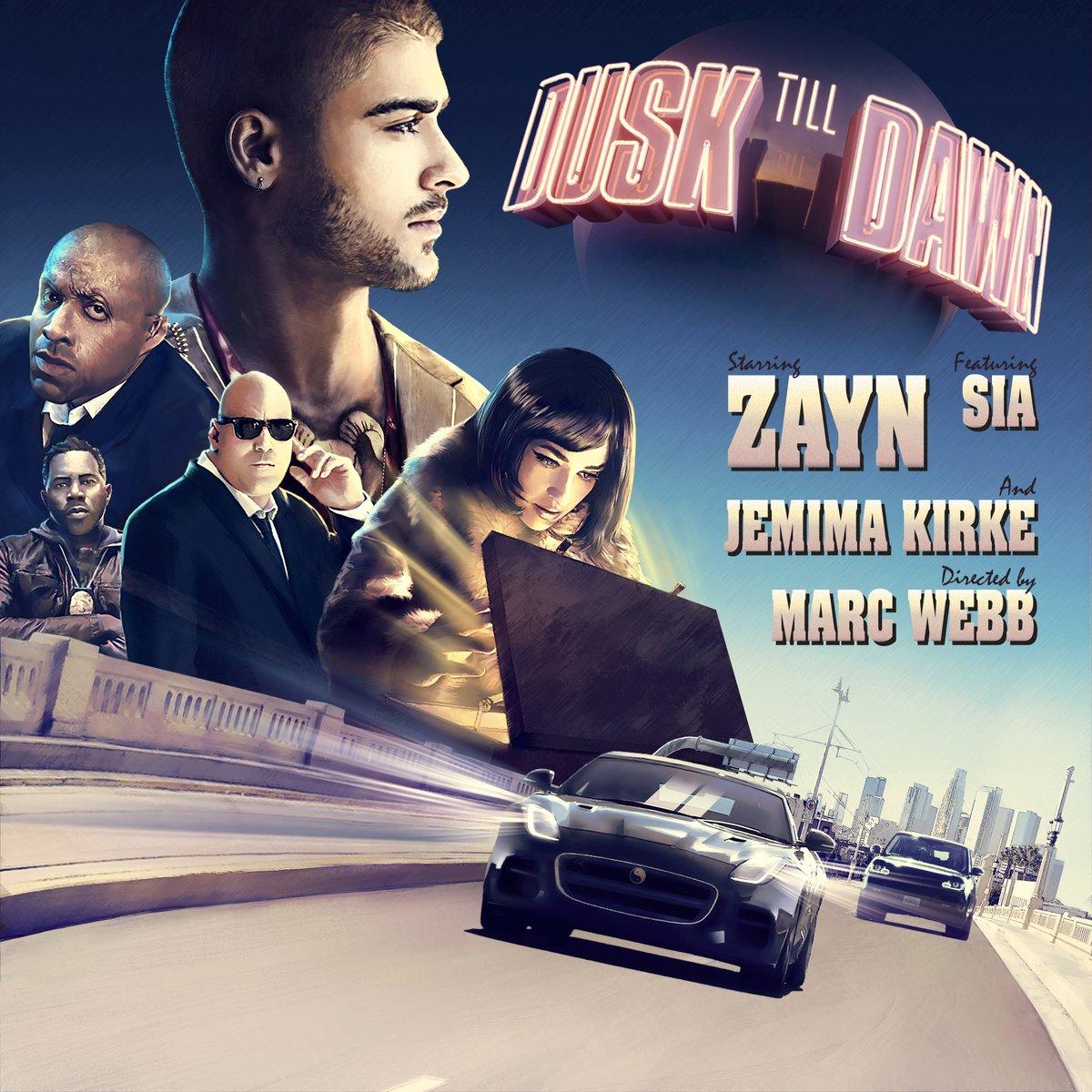 Diagram Zayn Dusk Till Dawn Lyrics Ft Sia