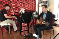 Watch Andrew Bird, Tim Heidecker Debut New Songs On <em>Live From The Great Room</em>