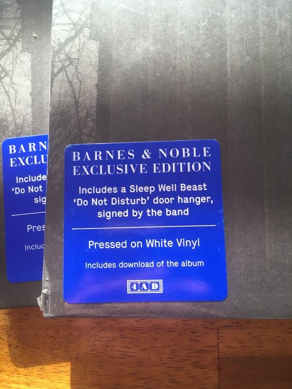Barnes & Noble Exclusive National Vinyl Comes With A Signed