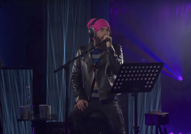 Jared Leto Sings A Mashup Of David Bowie, Prince, George Michael