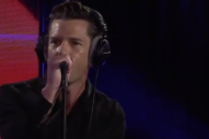 "Watch The Killers Cover Davie Bowie's ""Fame"" In The BBC Live Lounge"